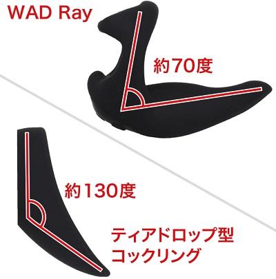 会陰振動でドライオーガズム【コックリングWAD RAY】