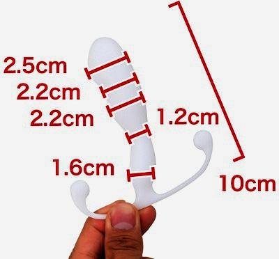 アネロスhelix(ヒリックス)のサイズ